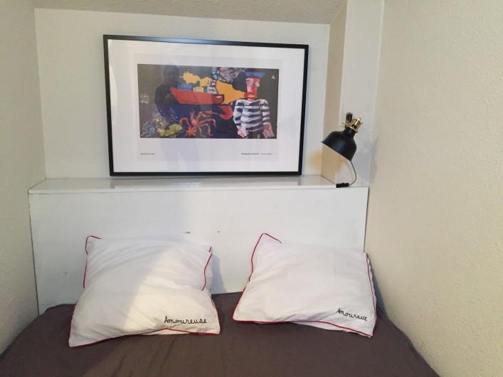 Location de vacances - Appartement à Sète - chambre 2 avec lit 140