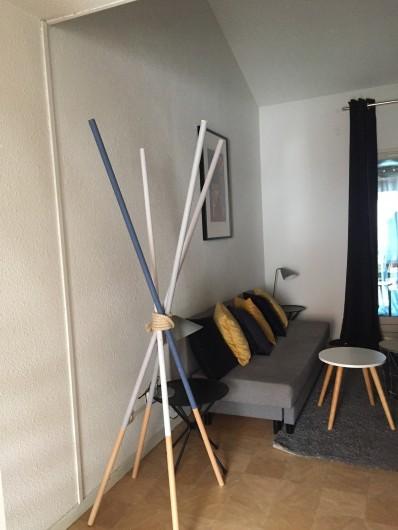 Location de vacances - Appartement à Sète - coin canapé