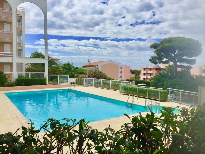 Location de vacances - Appartement à Sète - Grande Piscine