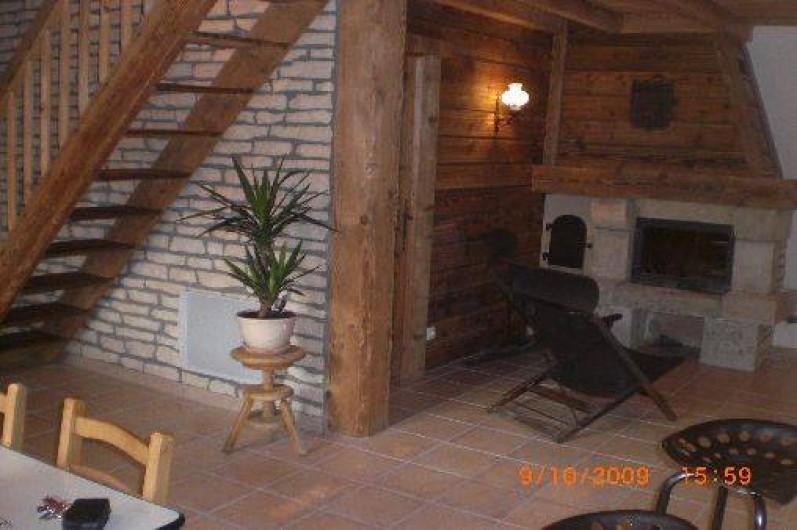 Location de vacances - Chalet à Mouthier-Haute-Pierre