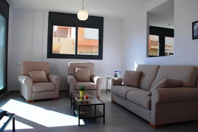 Location de vacances - Villa à L'Ametlla de Mar - Salon