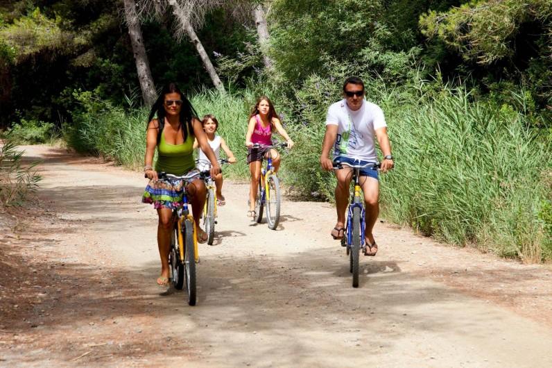 Location de vacances - Villa à L'Ametlla de Mar - Vélos