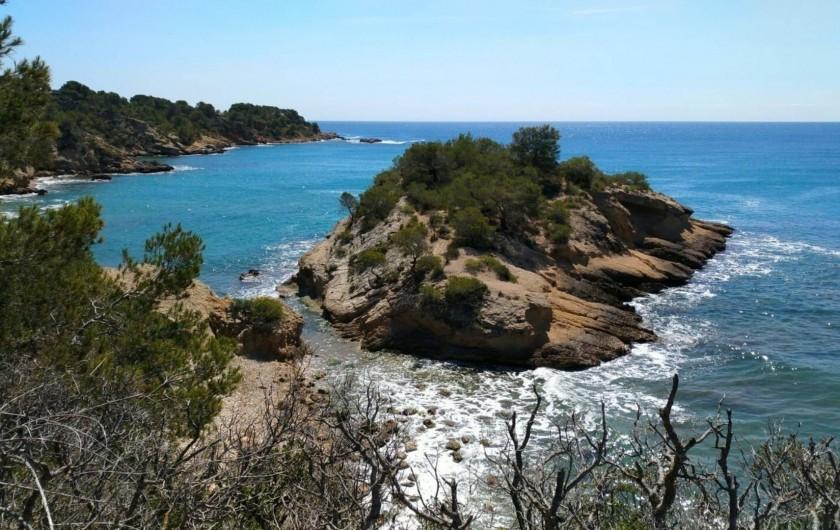 Location de vacances - Villa à L'Ametlla de Mar - Randonnée GR-92