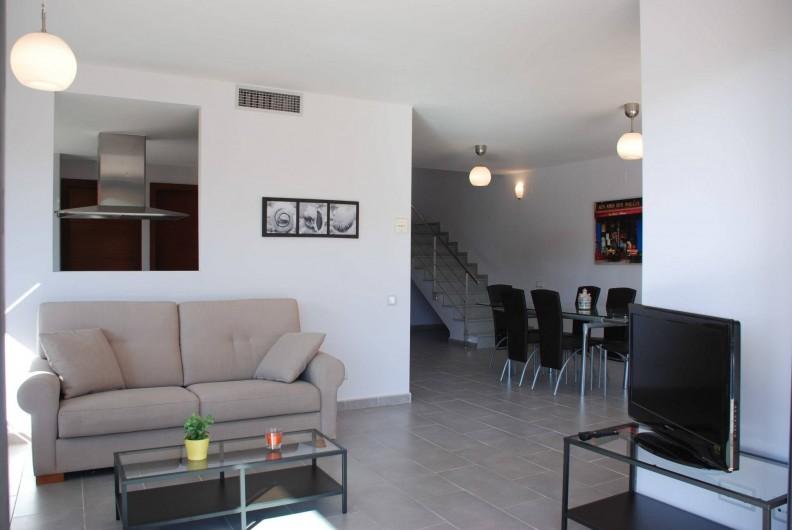 Location de vacances - Villa à L'Ametlla de Mar - Salon/Salle à Manger