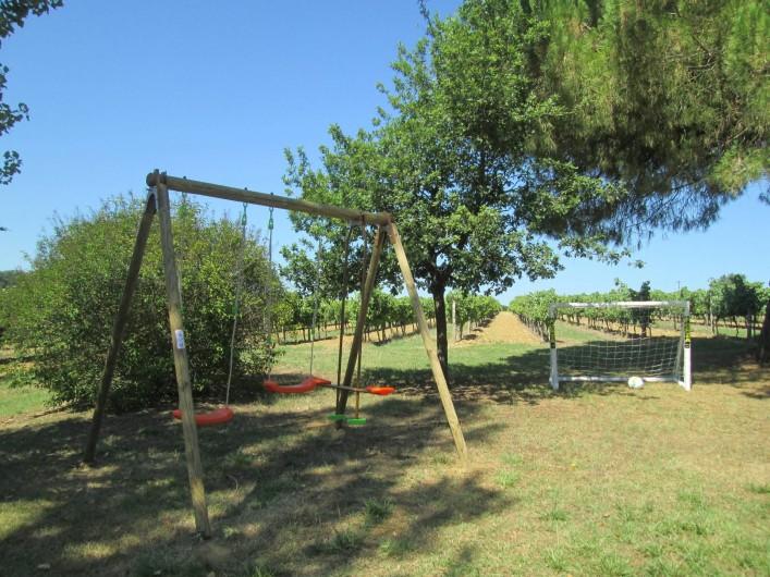 Location de vacances - Gîte à Gondrin - Jeux pour enfants
