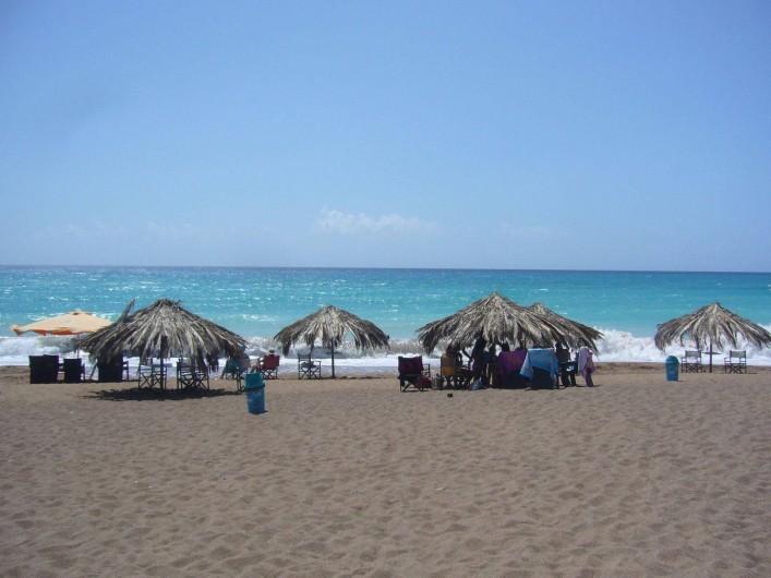 Location de vacances - Chalet à Kakovatos - UN BEAU BEACH BAR -SNACK A 900METRES