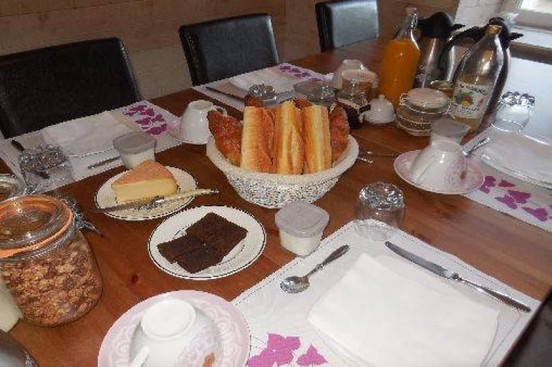 Location de vacances - Maison - Villa à Pontorson - Petit déjeuner