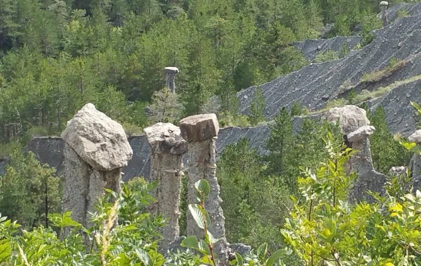 Location de vacances - Bungalow - Mobilhome à Saint-Vincent-les-Forts - Les demoiselles coiffées