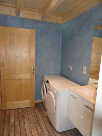 Location de vacances - Appartement à Les Gras - lave-linge sèche linge