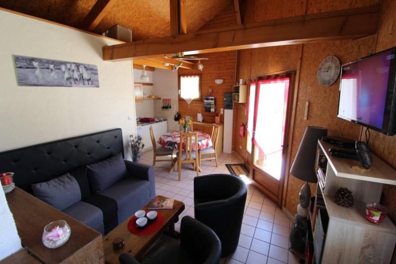 Location de vacances - Gîte à Allarmont - coin salon