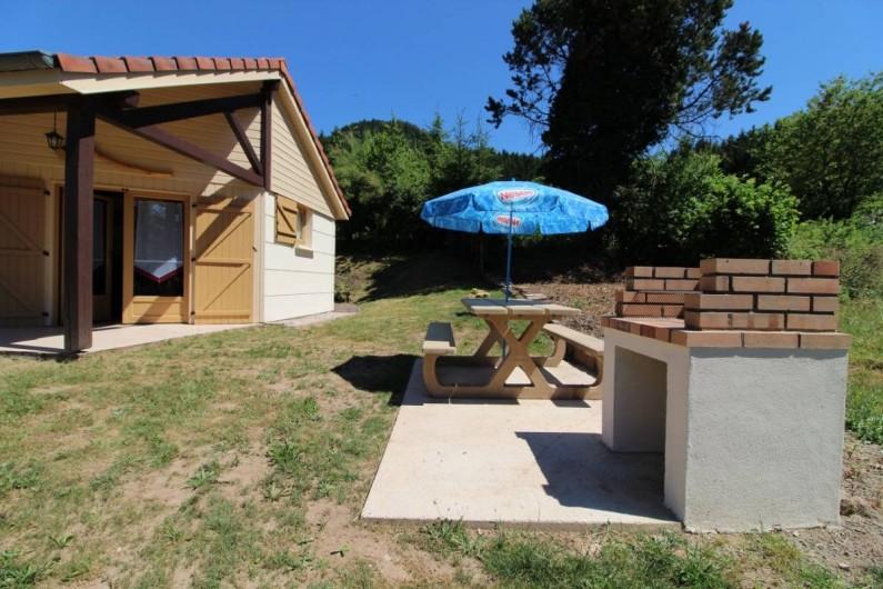 Location de vacances - Gîte à Allarmont - Coin barbecue