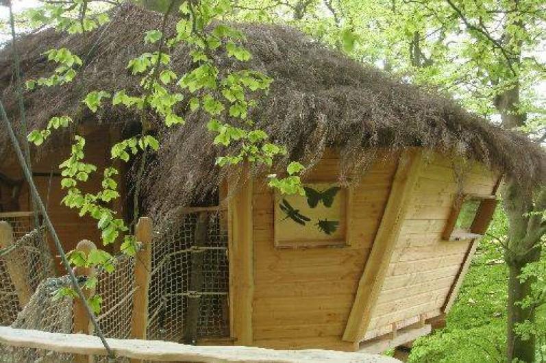 Cabanes Dans Les Arbres  Bracquetuit Dans La SeineMaritime En