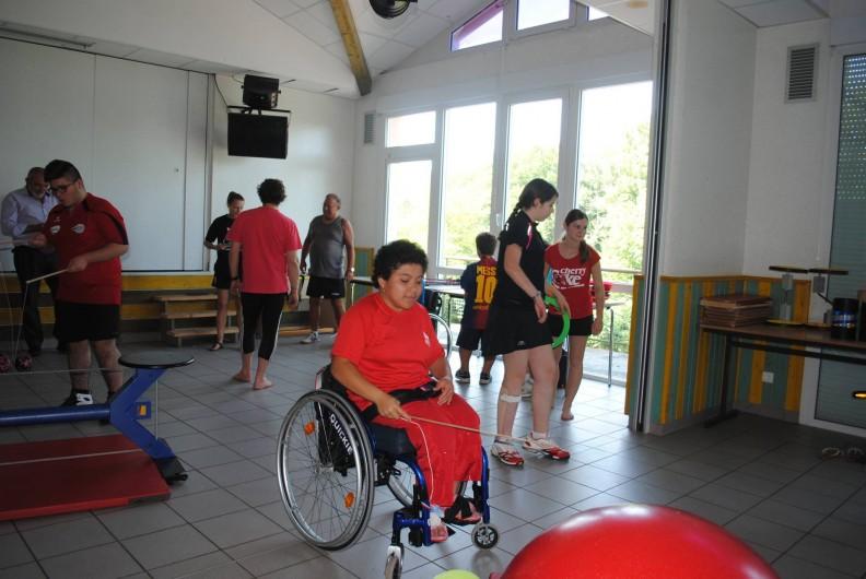 Location de vacances - Chalet à Senones - Agréé pour les accueils handicapés et pour leurs activités cirque