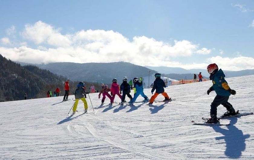 Location de vacances - Chalet à Senones - Sortie ski - champ du feu dans le massif Vosges