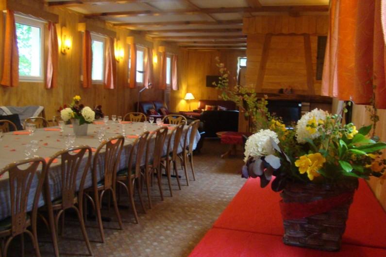 Location de vacances - Chalet à Senones - TILLEULS chalet de 300 m² salle de séjour jusque 48 pers. - Gestion libre