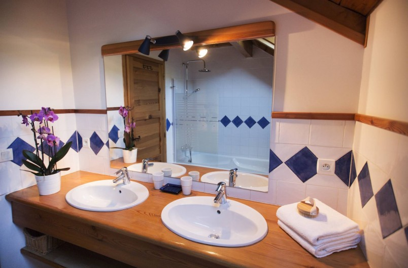 Location de vacances - Chalet à Saint-Chaffrey - Une des 5 salles de bain