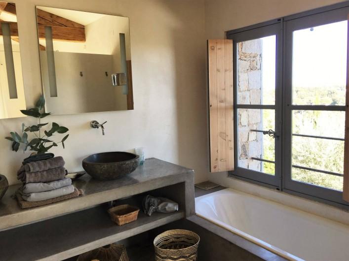 Location de vacances - Villa à Sainte-Maxime - salle de bains 1
