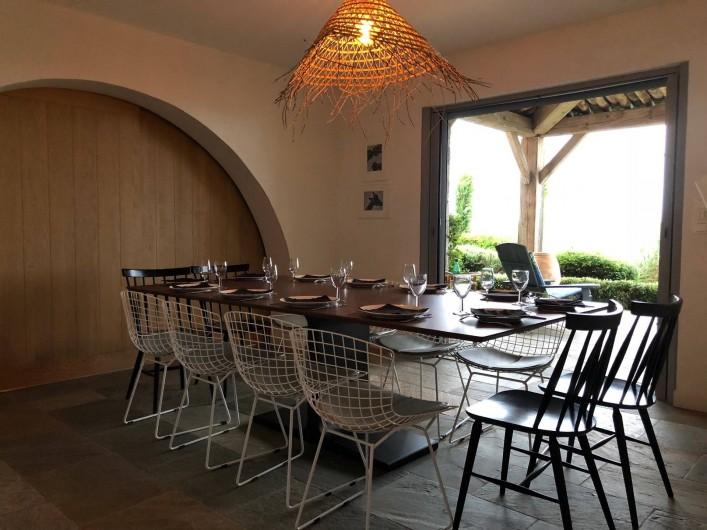 Location de vacances - Villa à Sainte-Maxime - salle à manger