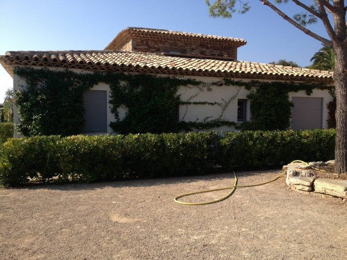 Location de vacances - Villa à Sainte-Maxime - terrain de boules