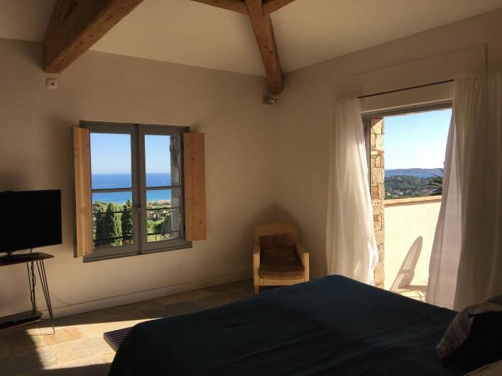 Location de vacances - Villa à Sainte-Maxime - chambre 1