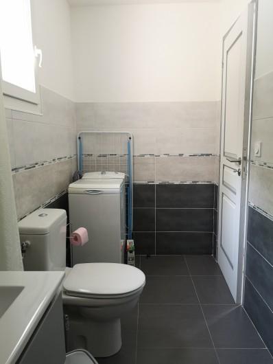 Location de vacances - Villa à Séchilienne - wc et machine à laver