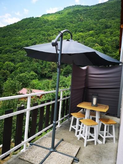 Location de vacances - Villa à Séchilienne - Brise vue pour séparation du balcon