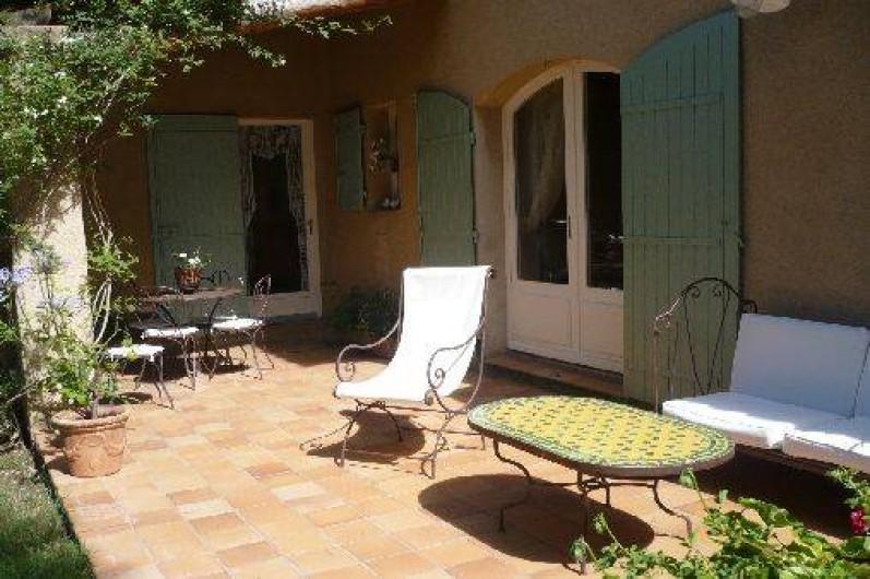 Location de vacances - Villa à Saumane-de-Vaucluse
