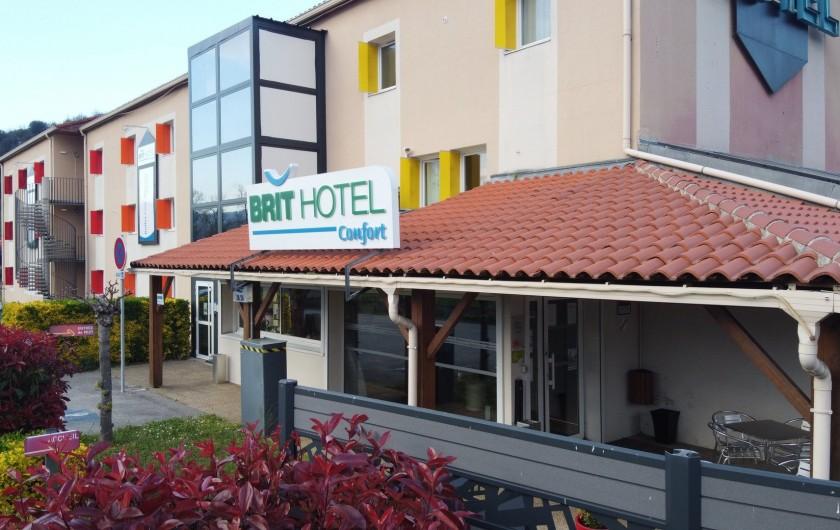 Location de vacances - Chambre d'hôtes à Foix - PETIT TERRASSE EN EXTÉRIEUR