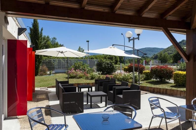 Location de vacances - Chambre d'hôtes à Foix - TERRASSE