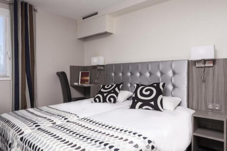 Location de vacances - Chambre d'hôtes à Foix - CHAMBRE TWIN (2 lits simples 90) STANDARD
