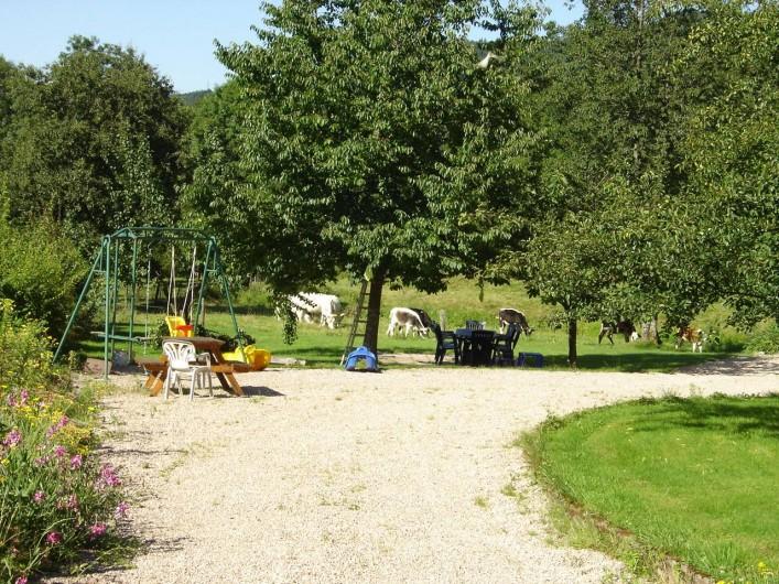 Location de vacances - Maison - Villa à Ban-sur-Meurthe-Clefcy - Terrain de jeux pour les enfants