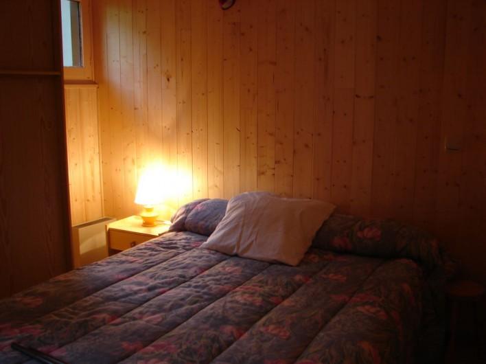 Location de vacances - Appartement à Aragnouet - La chambre à l'étage