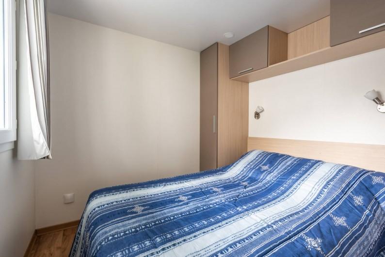 Location de vacances - Camping à Clohars-Carnoët - Chambre Mobil-home 2 chambres