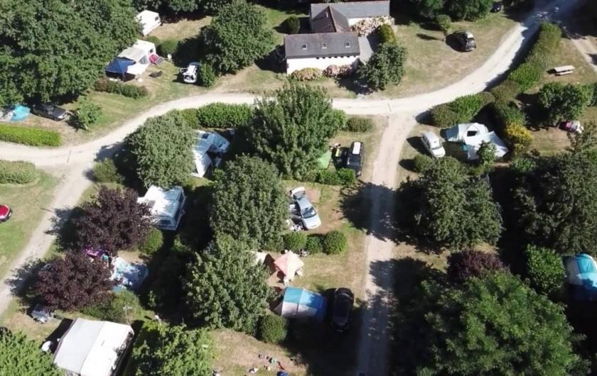 Location de vacances - Camping à Clohars-Carnoët - Vue aérienne