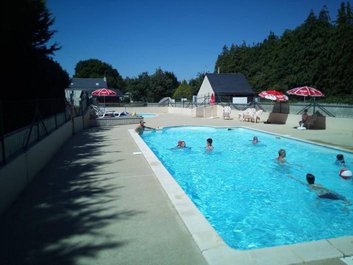 Location de vacances - Camping à Clohars-Carnoët - La piscine