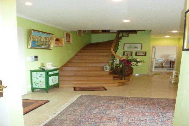 Location de vacances - Chambre d'hôtes à Saint-Raphaël - accés au chambre indépendante