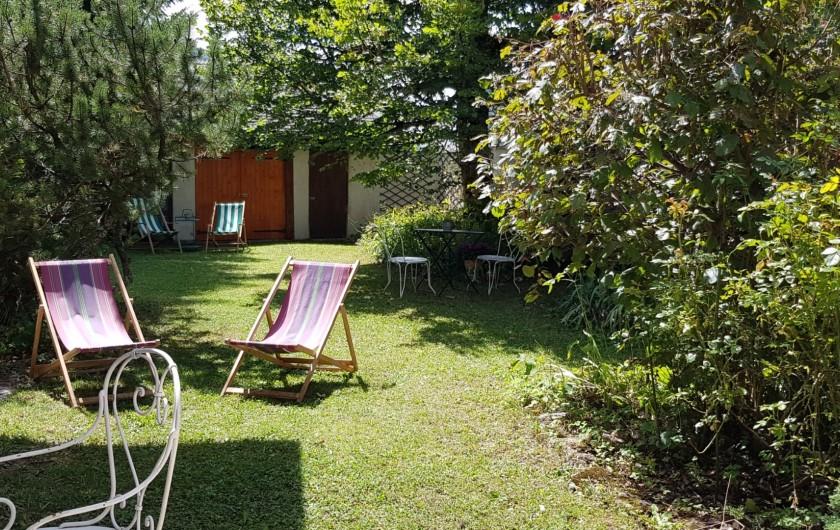 Location de vacances - Maison - Villa à Villard-de-Lans - Espaces de détentes jardin