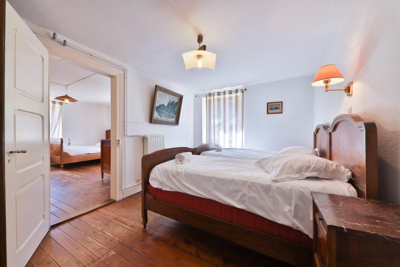 Location de vacances - Gîte à Sondernach - Une chambre 2 lits simples au 1er étage