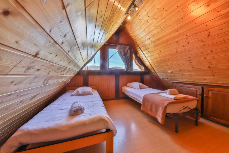 Location de vacances - Gîte à Sondernach - Espace de  couchage en duplex