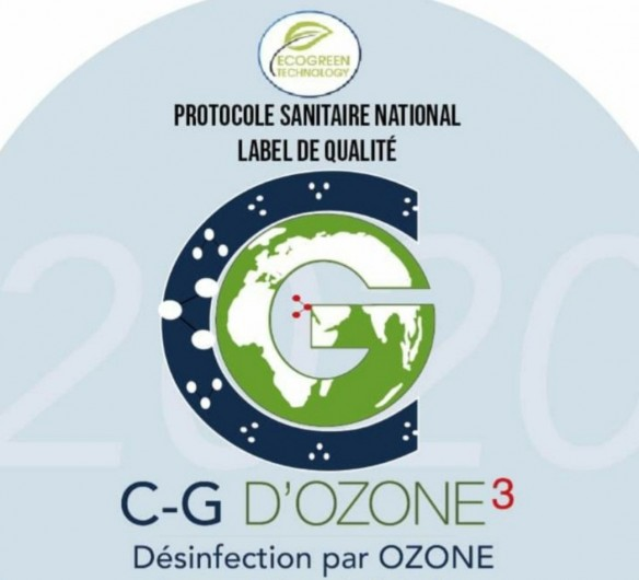 Location de vacances - Appartement à Villarembert - Désinfection  à l'Ozone par la société  C-G D'OZONE³