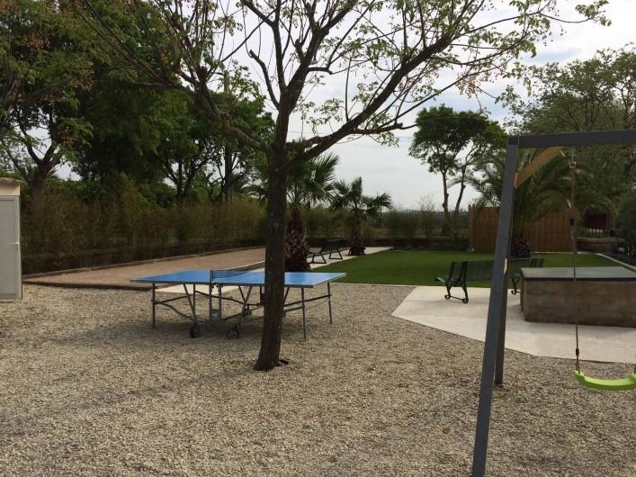 Location de vacances - Gîte à Vias - table de ping-pong
