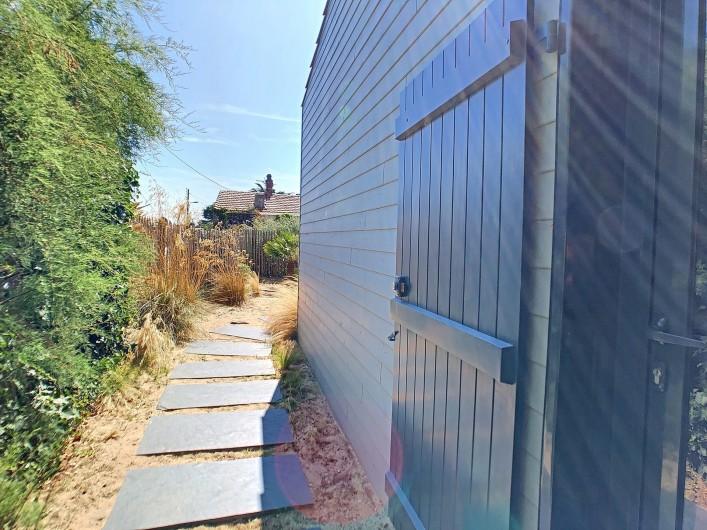 Location de vacances - Villa à Barbâtre - entrée du Cabernot