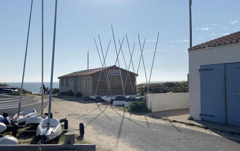 Location de vacances - Villa à Barbâtre - club de voile de Barbâtre à 250 m du Cabernot