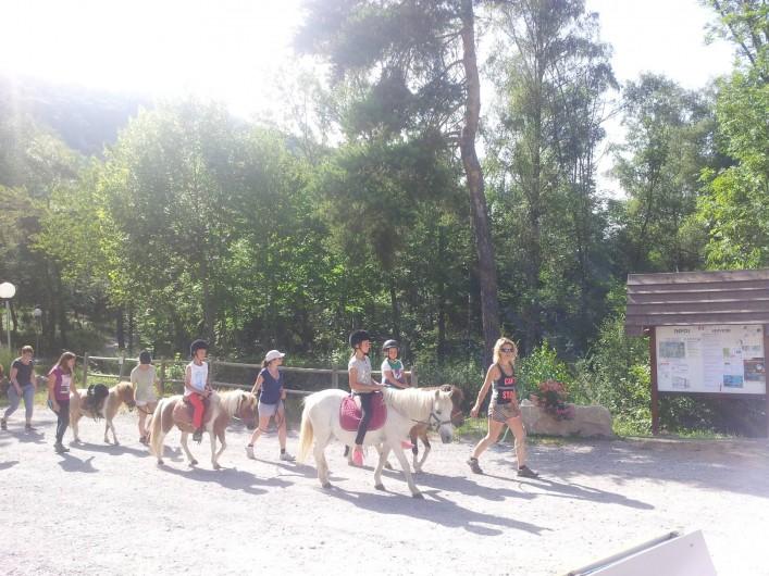 Location de vacances - Chalet à La Bréole - Sorties poney au camping