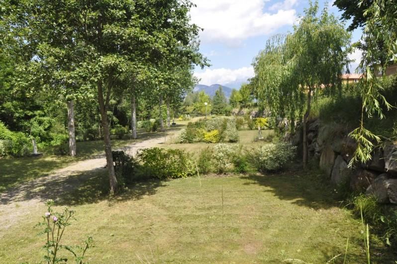 Location de vacances - Chalet à La Bréole - Les emplacements camping