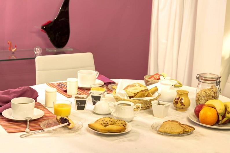 Location de vacances - Chambre d'hôtes à Monein - Petit Déjeuner