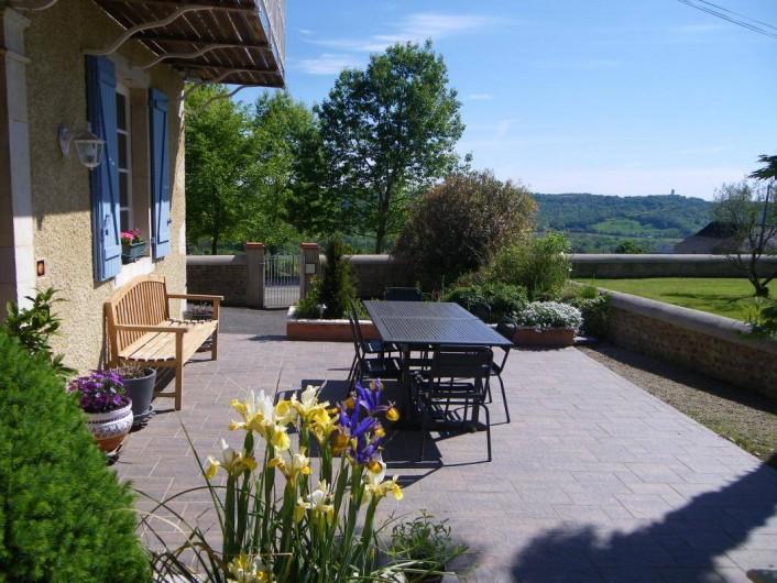 Location de vacances - Chambre d'hôtes à Monein - La terrasse