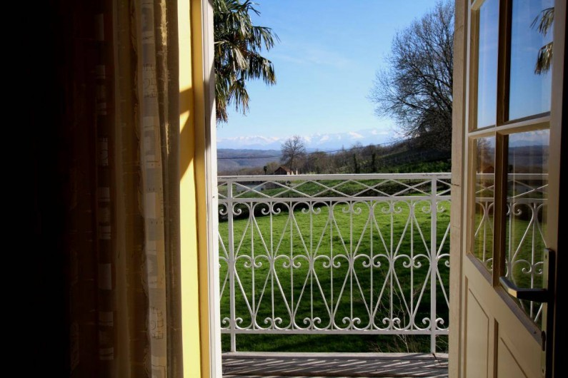 Location de vacances - Chambre d'hôtes à Monein - La vue depuis les Chambres
