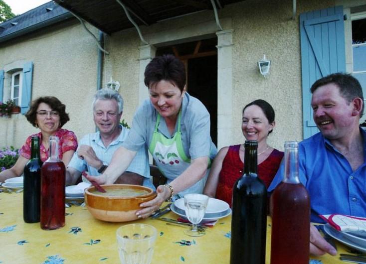 Location de vacances - Chambre d'hôtes à Monein - La table d'hôtes