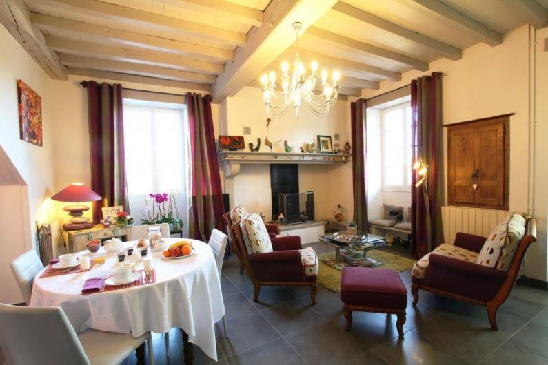 Location de vacances - Chambre d'hôtes à Monein - Le Salon Commun